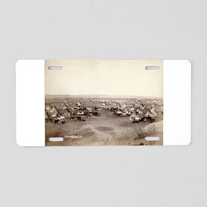 Hostile Indian camp- John Grabill - 1891 Aluminum