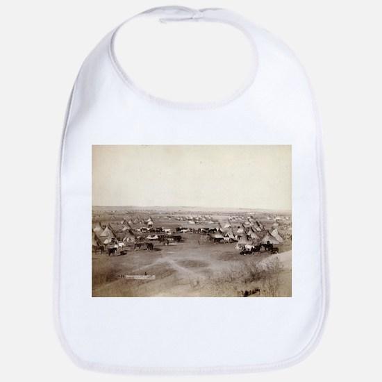 Hostile Indian camp- John Grabill - 1891 Cotton Ba