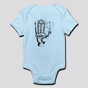 Esoteric Alchemy Symbols - Hand and Palm Body Suit