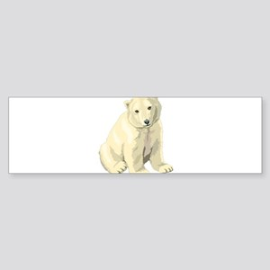 Baby Polar Bear Bumper Sticker