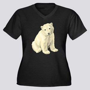 Baby Polar Bear Plus Size T-Shirt