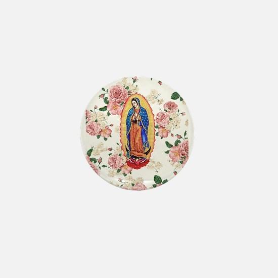 Virgin of Guadalupe Mini Button