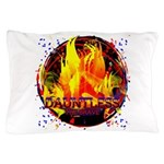 Dauntless Flaming Pixels Pillow Case