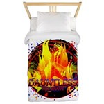 Dauntless Flaming Pixels Twin Duvet