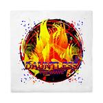 Dauntless Flaming Pixels Queen Duvet