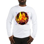 Dauntless Flaming Pixels Long Sleeve T-Shirt