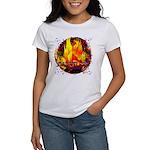 Dauntless Flaming Pixels Women's T-Shirt