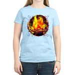 Dauntless Flaming Pixels Women's Light T-Shirt