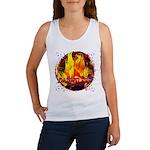 Dauntless Flaming Pixels Women's Tank Top