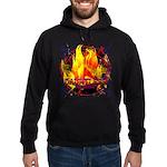 Dauntless Flaming Pixels Hoodie (dark)