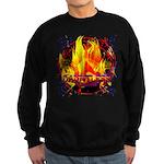 Dauntless Flaming Pixels Sweatshirt (dark)