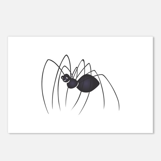 DADDY LONG LEGS SPIDER Postcards (Package of 8)