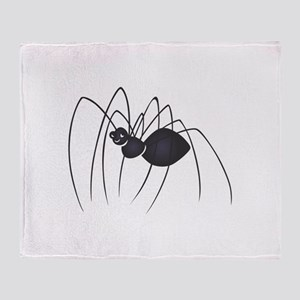 DADDY LONG LEGS SPIDER Throw Blanket