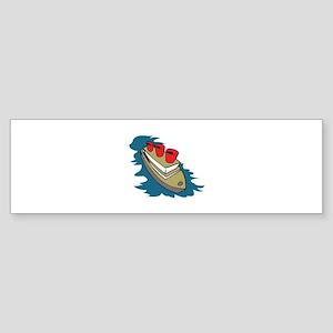 OCEAN LINER Bumper Sticker