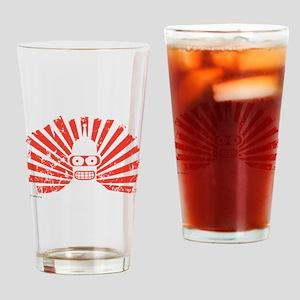 Futurama Bender Rays Drinking Glass