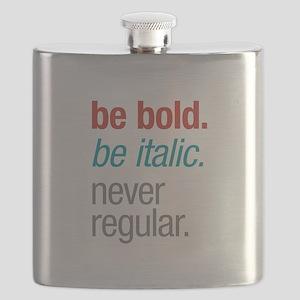 Bold Italic Flask