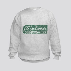 Vintage Merlotte's Bar & Grill Kids Sweatshirt
