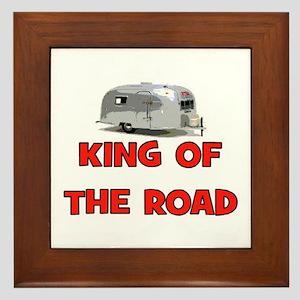 KING OF THE ROAD Framed Tile