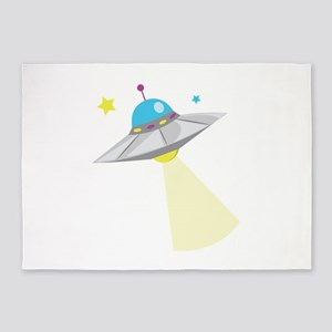 UFO 5'x7'Area Rug