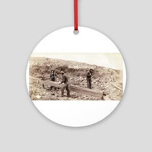 Gold Dust - John Grabill - 1889 Round Ornament