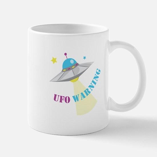 UFO Warning Mugs