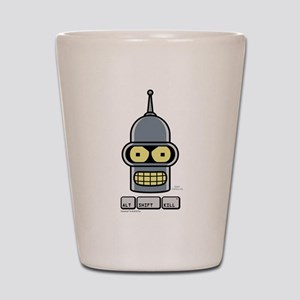 Futurama Alt Shift Kill Shot Glass