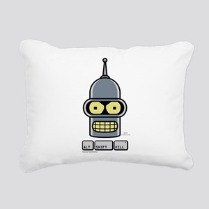 Futurama Alt Shift Kill Rectangular Canvas Pillow