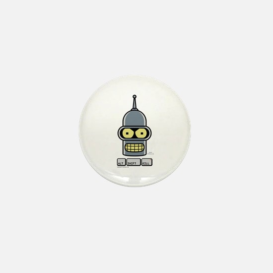 Futurama Alt Shift Kill Mini Button
