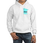 True Blue Minnesota LIBERAL Hooded Sweatshirt
