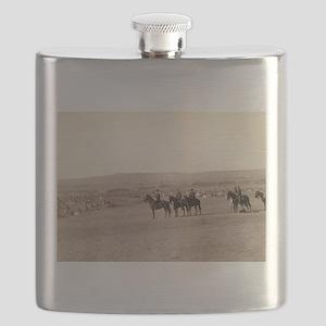 General Miles - John Graybill - 1880 Flask