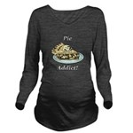 Pie Addict Long Sleeve Maternity T-Shirt