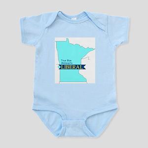 Infant Creeper for True Blue Minnesota Liberals