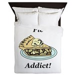 Pie Addict Queen Duvet
