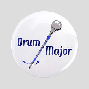 """DRUM MAJOR 3.5"""" Button"""