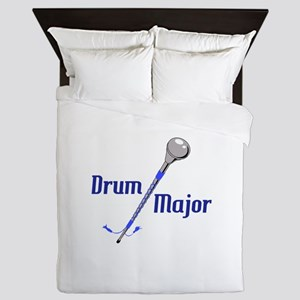 DRUM MAJOR Queen Duvet