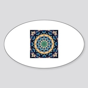 Sacred Circle of Love, Peace, and Harmony Sticker