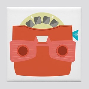 View Master Tile Coaster