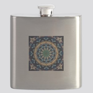 Sacred Circle of Love, Peace, and Harmony Bl Flask
