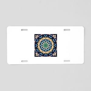 Sacred Circle of Love, Peac Aluminum License Plate
