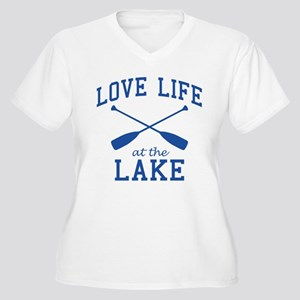 Love Life at the Lake Plus Size T-Shirt
