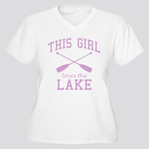This Girl Loves the Lake Plus Size T-Shirt