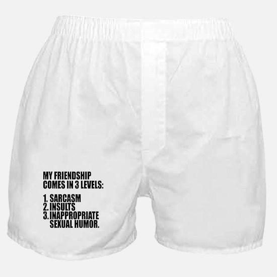 Friendship Skills Boxer Shorts