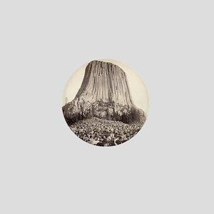 Devil's Tower 4 - John Grabill - 1890 Mini Button