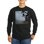 Maui Beach Palms Long Sleeve T-Shirt