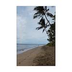 Maui Beach Palms Posters Mini Poster Print
