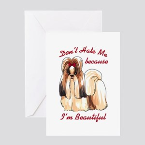 DONT HATE ME Greeting Cards