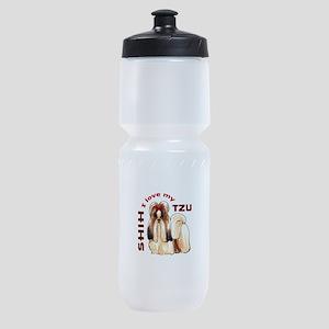 LOVE MY SHIH TZU Sports Bottle