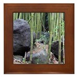 Maui Bamboo Forest Framed Tile