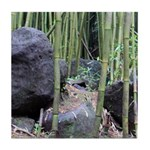 Maui Bamboo Forest Tile Coaster