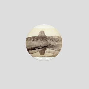 Devil's Tower 2 - John Grabill - 1890 Mini Button